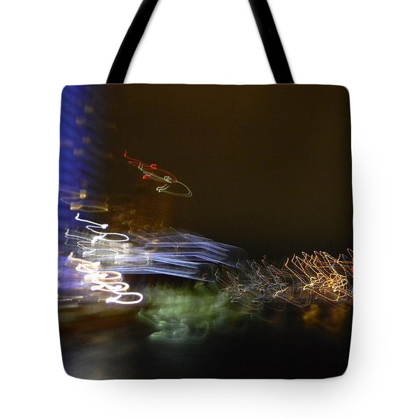 G.r. Grand River Dazzling Lights Tote Bag