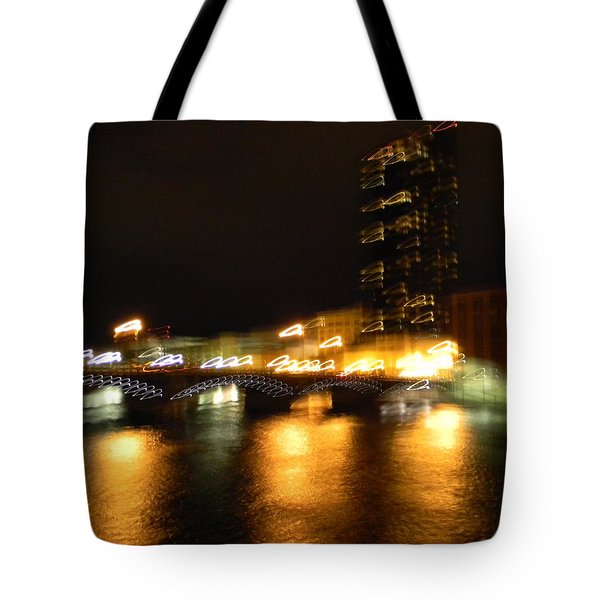 G.r. Grand River Glow Tote Bag by Mark Minier