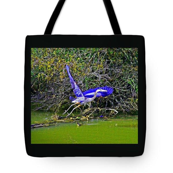 Gr8 Heron Flight Tote Bag