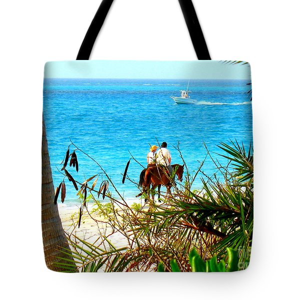 Grace Bay Riding Tote Bag by Patti Whitten