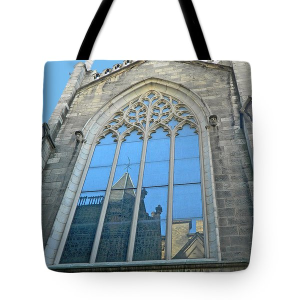 Tote Bag featuring the photograph Grace Episcopal Church Nyc by Emmy Marie Vickers