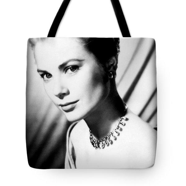 Grace Kelly Tote Bag by Daniel Hagerman