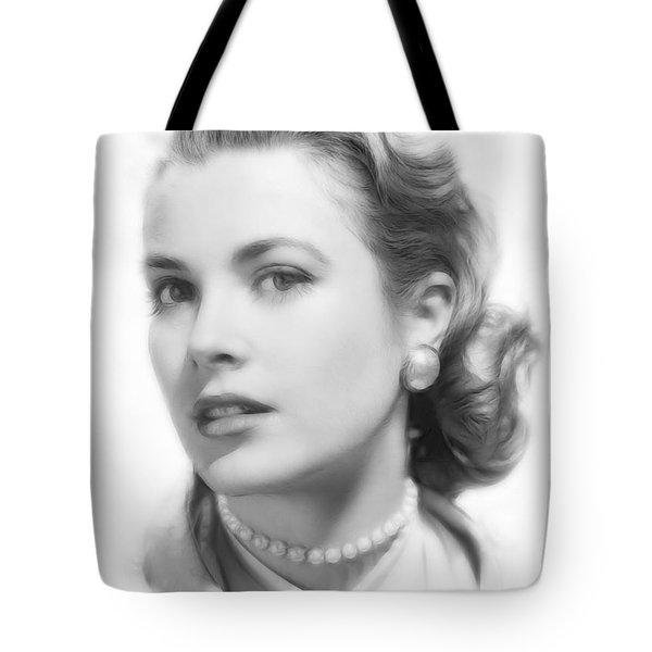 Grace Kelly Pencil Tote Bag