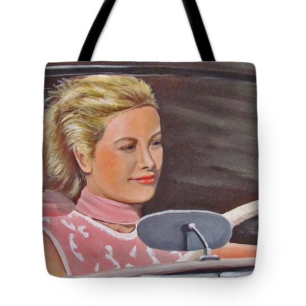 Grace Kelly - To Catch A Thief Tote Bag
