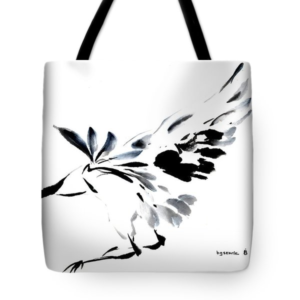 Tote Bag featuring the painting Grace Of Fortune by Bill Searle