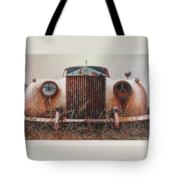 Grace - Rolls Royce Tote Bag by Blue Sky