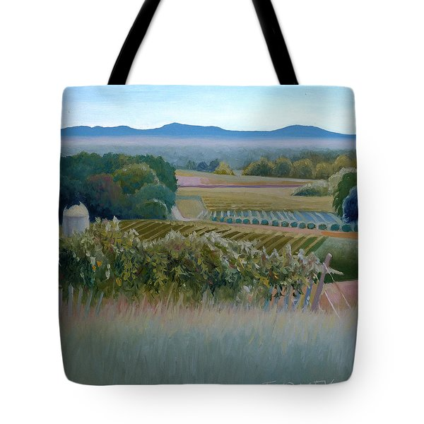 Grace Vineyards No. 1 Tote Bag