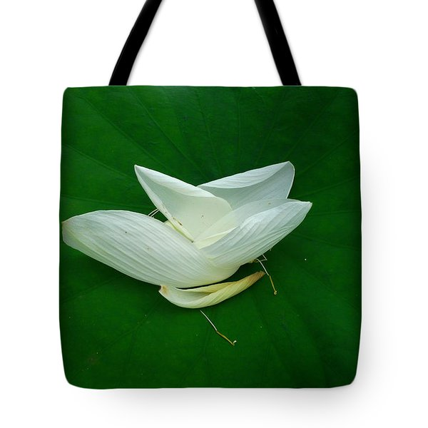 Graceful End Tote Bag