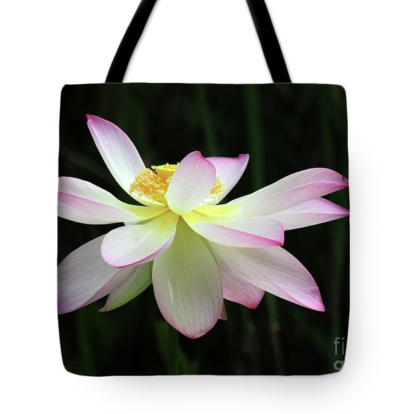 Graceful Lotus Tote Bag