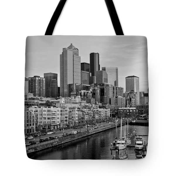 Gracefully Urban Tote Bag by Mike Reid