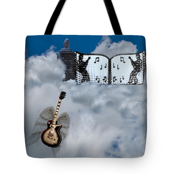 Graceland Tote Bag by Bill Cannon