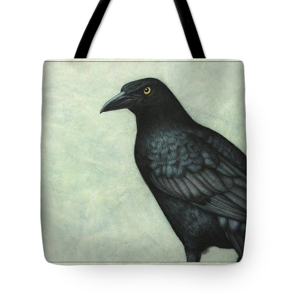 Grackle Tote Bag by James W Johnson
