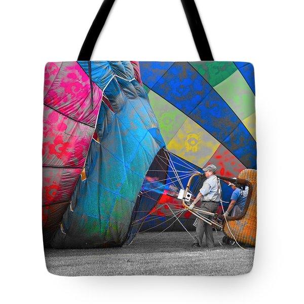 Graffiti Balloons Tote Bag