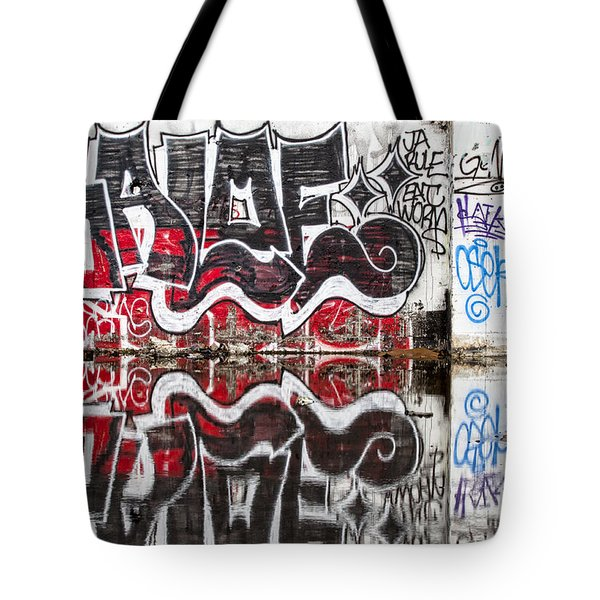 Graffiti Tote Bag by Carol Leigh