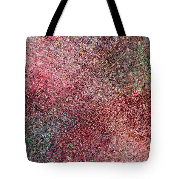 Tote Bag featuring the painting Graffiti Rebellion Abstract by Isabella Howard