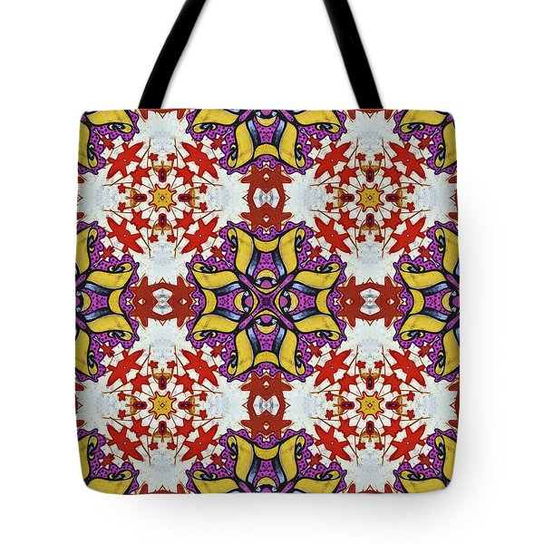 Graffito Kaleidoscope 40 Tote Bag