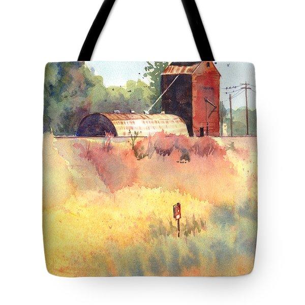 Grain Elevator Tote Bag