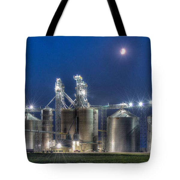 Grain Processing Plant Tote Bag by Paul Freidlund