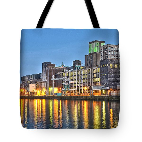 Grain Silo Rotterdam Tote Bag by Frans Blok