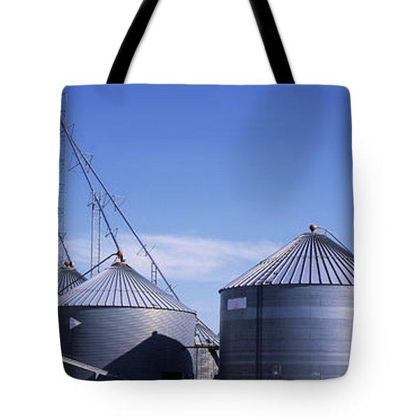 Grain Storage Bins Tote Bags | Fine Art America