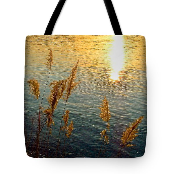 Graminees Dorees Tote Bag by Marc Philippe Joly