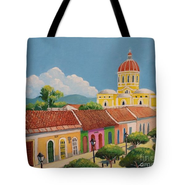 Granada Cathedral Tote Bag