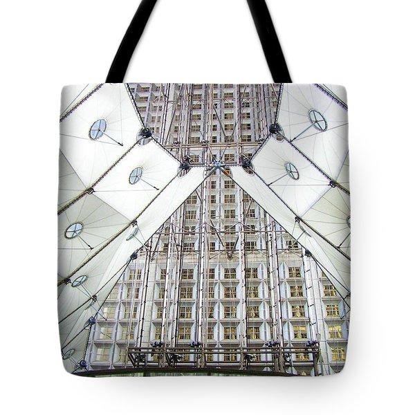 Grand Arche  Tote Bag by Oleg Zavarzin