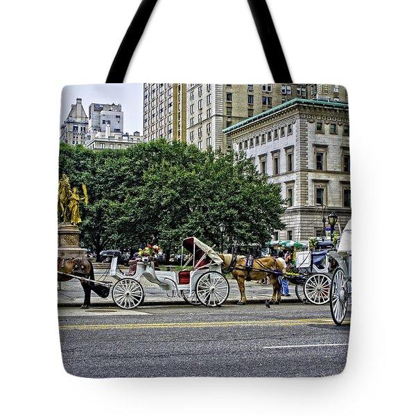 Grand Army Plaza - Manhattan Tote Bag by Madeline Ellis