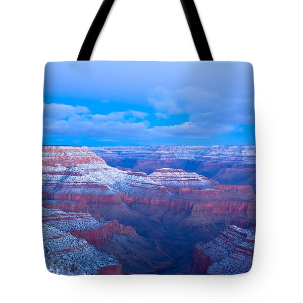 Tote Bag featuring the photograph Grand Canyon At Dawn by Jonathan Nguyen