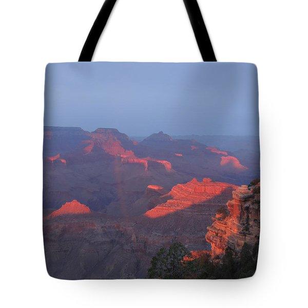 Grand Canyon At Sunset Tote Bag