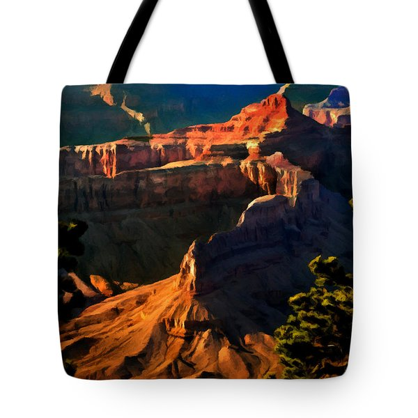 Grand Canyon At Sunset Tote Bag