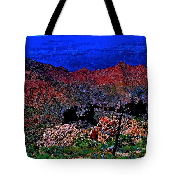 Grand Canyon Beauty Exposed Tote Bag