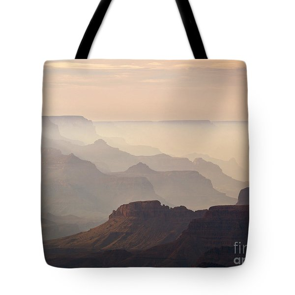 Grand Canyon From Lipan Point Tote Bag by Alex Cassels