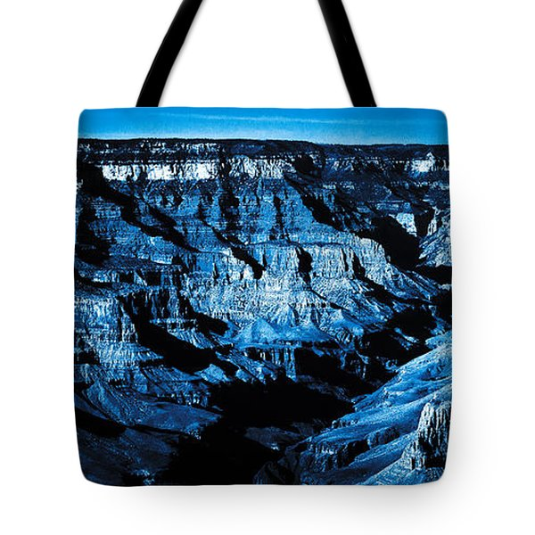 Grand Canyon In Blue Tote Bag
