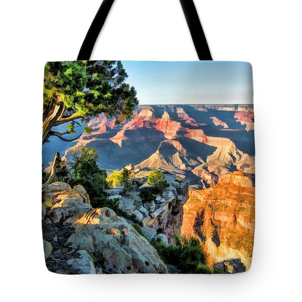 Grand Canyon Ledge Tote Bag by Christopher Arndt