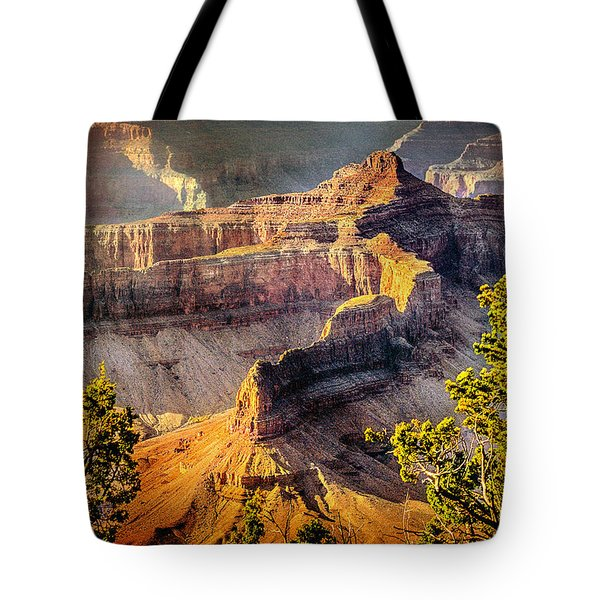Grand Canyon National Park Tote Bag by Bob and Nadine Johnston