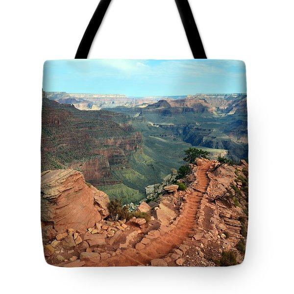 Grand Canyon National Park South Kaibab Trail Tote Bag