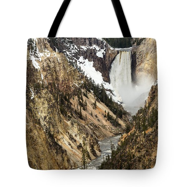 Grand Canyon Of The Yellowstone Tote Bag