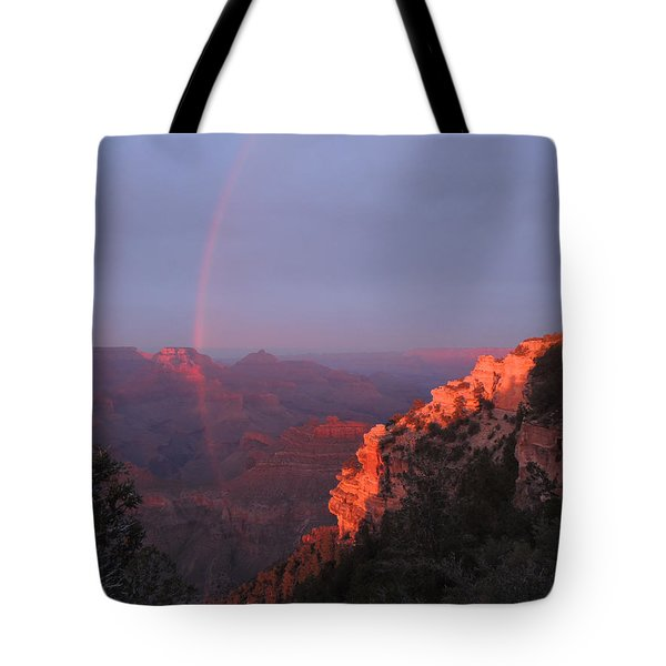 Grand Canyon Rainbow Tote Bag