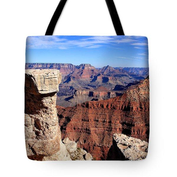 Grand Canyon - South Rim View Tote Bag by Aidan Moran