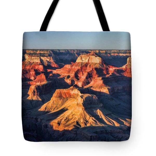 Grand Canyon National Park Sunset Tote Bag