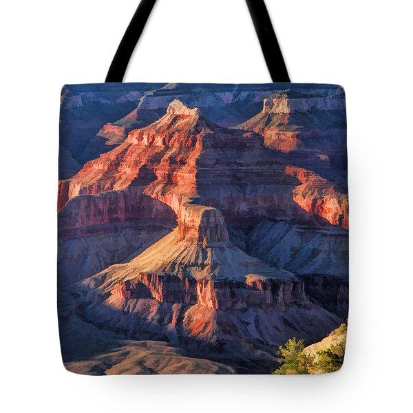 Grand Canyon National Park Sunset Ridge Tote Bag
