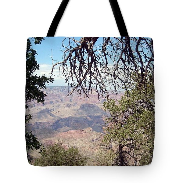 Grand Canyon View 1 Tote Bag