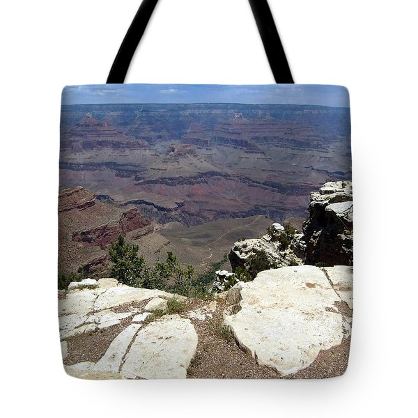 Grand Canyon View 2 Tote Bag