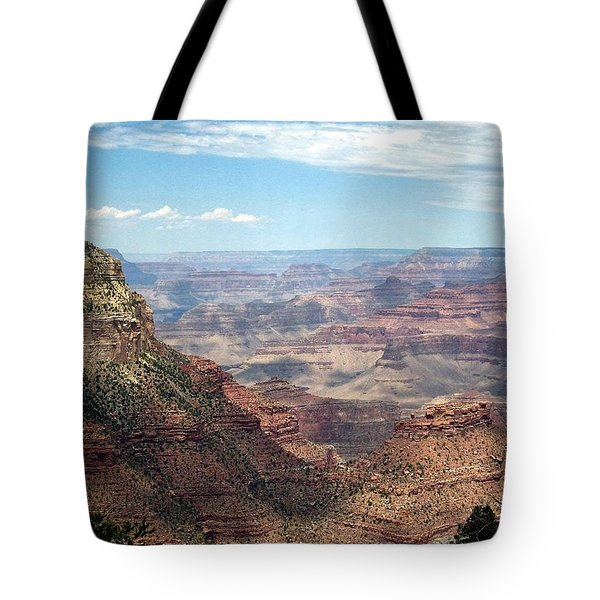 Grand Canyon View 3 Tote Bag