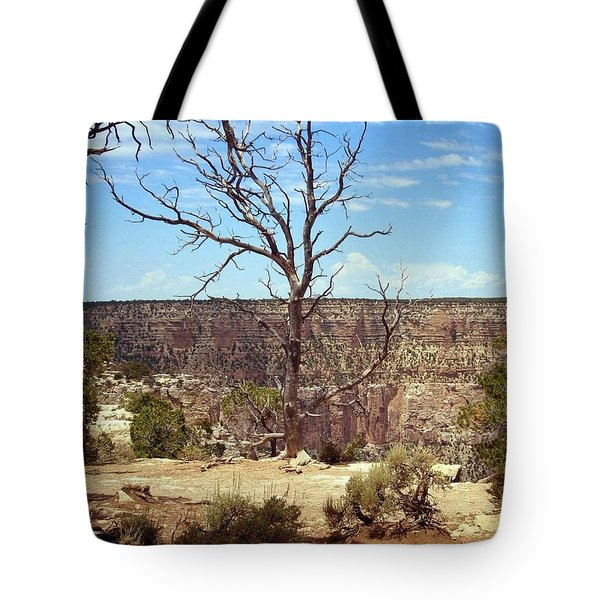 Grand Canyon View 6 Tote Bag