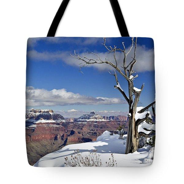 Grand Canyon Winter -2 Tote Bag