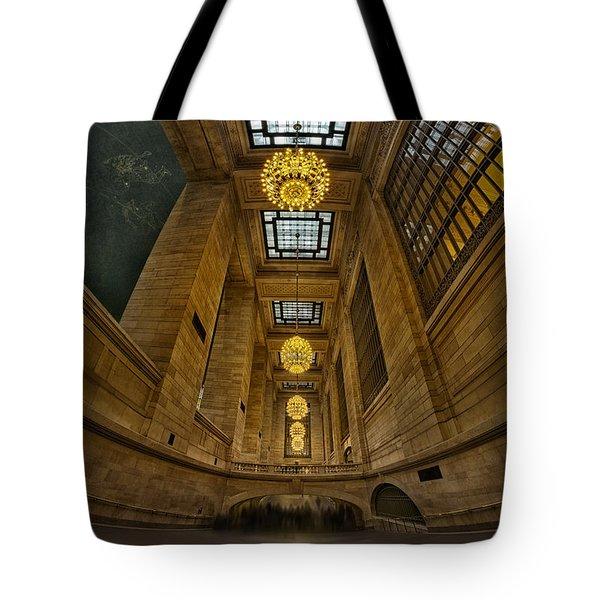 Grand Central Corridor Tote Bag by Susan Candelario