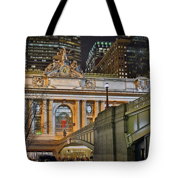 Grand Central Nocturnal Tote Bag by Jeffrey Friedkin
