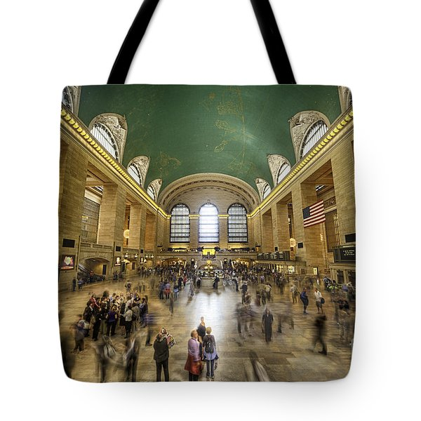 Grand Central Rush Tote Bag